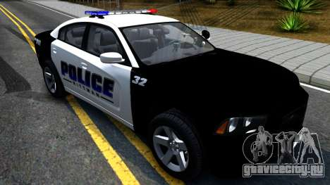 Dodge Charger Rittman Ohio Police 2013 для GTA San Andreas вид справа