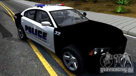 Dodge Charger Rittman Ohio Police 2013 для GTA San Andreas вид справа