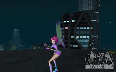 Tecna Believix from Winx Club Rockstars для GTA San Andreas второй скриншот