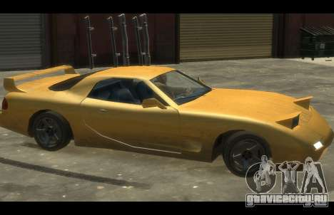 ZR 350 GTA San Andreas v1.0 для GTA 4