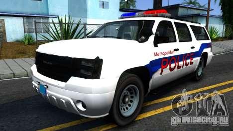 Declasse Granger Metropolitan Police 2012 для GTA San Andreas