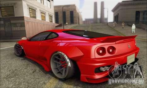 Ferrari 360 LB Work для GTA San Andreas вид слева