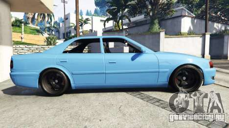 Toyota Chaser (JZX100) v1.1 [add-on] для GTA 5 вид слева