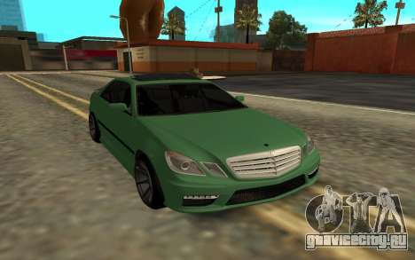 Mercedes C63 Toyota Mark 2 JZX 100 для GTA San Andreas