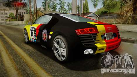 Audi R8 Coupe 4.2 FSI quattro EU-Spec 2008 Dirt для GTA San Andreas
