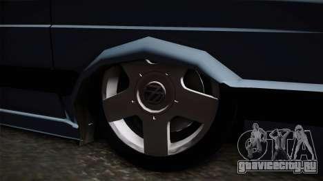 Volkswagen Saveiro 1994 для GTA San Andreas вид сзади