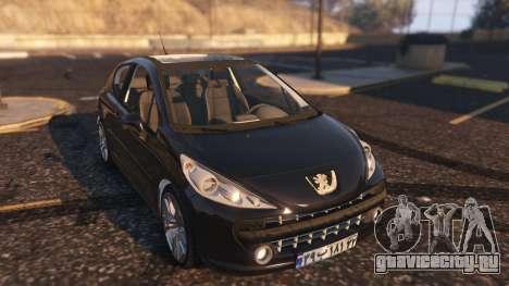Peugeot 207 для GTA 5