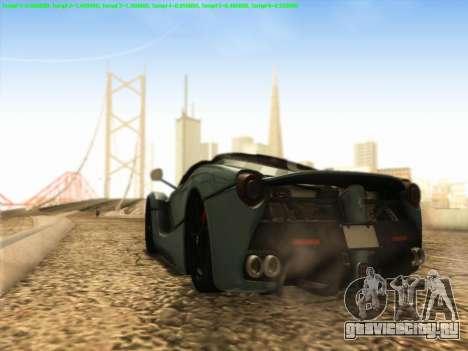 LaFerrari 2017 для GTA San Andreas вид справа