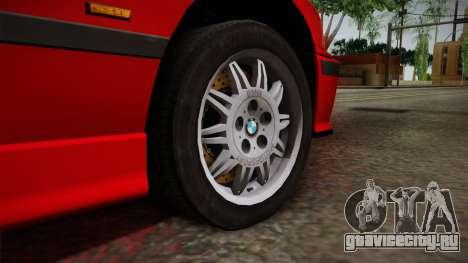 BMW 328i E36 Coupe для GTA San Andreas вид сзади