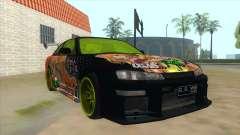Azuki Azusa Itasha Nissan Silvia Vinyl для GTA San Andreas