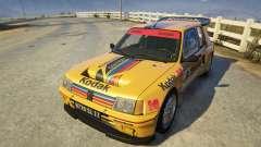 Peugeot 205 Turbo 16 для GTA 5