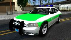 Dodge Charger German Police 2008 для GTA San Andreas