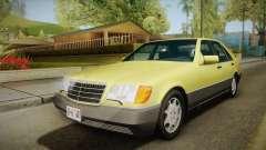 Mercedes-Benz 500SE 1991 v1.1