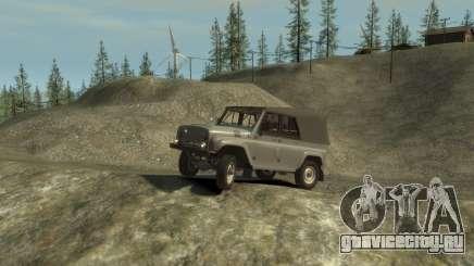 УАЗ 469 (Paul Black prod.) для GTA 4
