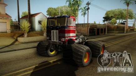 Peterbilt Monster Truck для GTA San Andreas