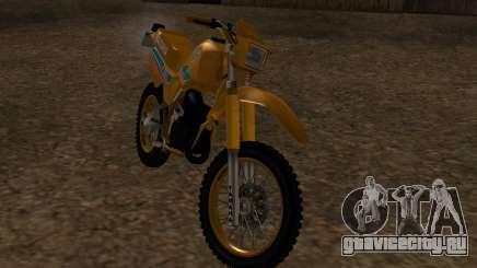 Ямаха ДТ 180 с оригинальной СА. для GTA San Andreas