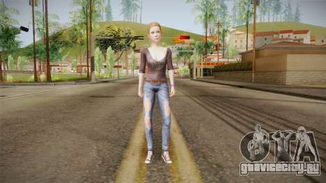 Life Is Strange - Dana Ward для GTA San Andreas второй скриншот