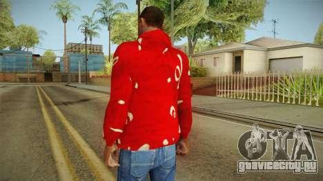 Новогодняя толстовка для GTA San Andreas второй скриншот