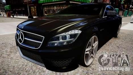 Mercedes-Benz CLS 6.3 AMG'12 для GTA 4 вид справа