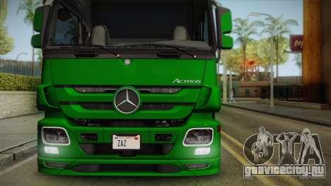 Mercedes-Benz Actros 2646 для GTA San Andreas вид справа