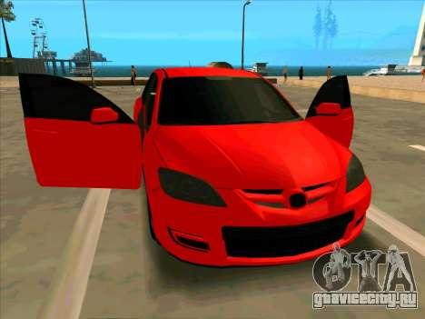 Mazda 3 Red для GTA San Andreas
