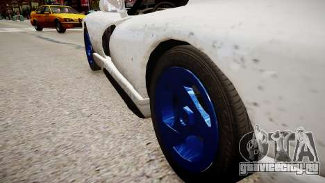 Aston Martin Vanquish NYPD для GTA 4 вид сзади
