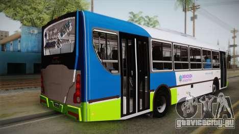 Italbus Bello 2016 Mendoza для GTA San Andreas вид слева