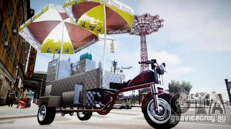 Hotdog Express для GTA 4 вид справа
