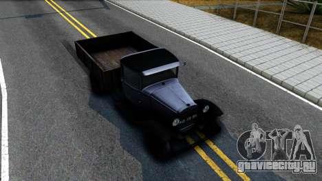 ГАЗ-ММ 1940 для GTA San Andreas вид справа