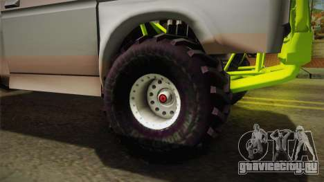 Sandy Racer v.1.5 для GTA San Andreas вид сзади