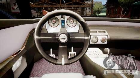 Chevrolet Camaro Concept Police для GTA 4 вид изнутри