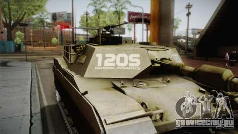 M60-2000 (120S) для GTA San Andreas вид сзади слева