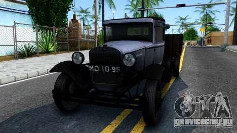 ГАЗ-ММ 1940 для GTA San Andreas