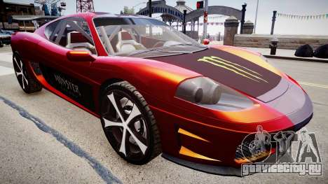 Modified Turismo для GTA 4 вид справа
