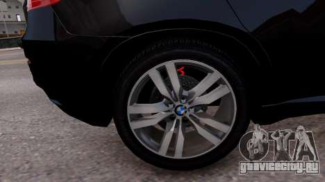 BMW X6M by DesertFox v.1.0 для GTA 4 вид сзади