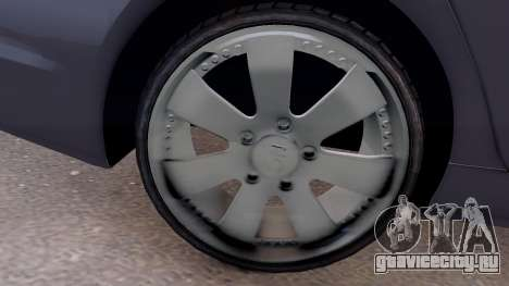 Hyundai Sonata 2011 для GTA 4 вид сзади