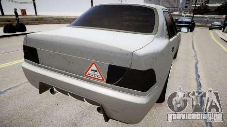 Toyota Corolla EmreAKIN Edition для GTA 4 вид сзади слева