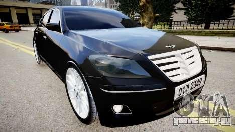 Hyundai Genesis 2008 для GTA 4