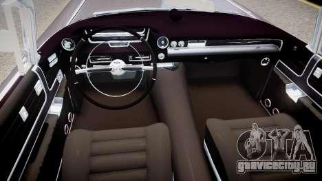 Cadillac Eldorado v2 для GTA 4 вид изнутри