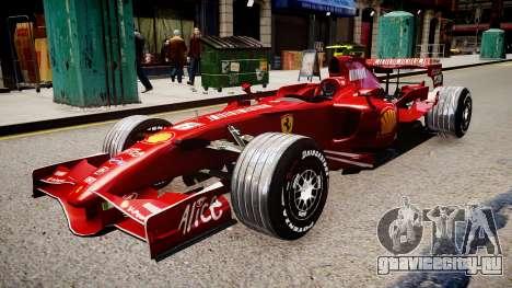 Formula 1 - LaFerrari F2007 для GTA 4