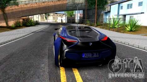 BMW Vision 3 для GTA San Andreas вид сзади слева