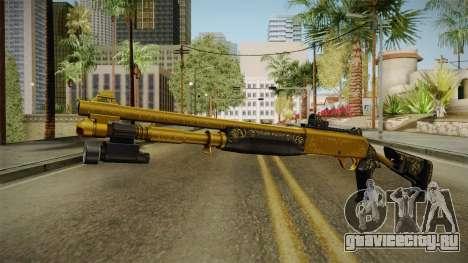 Killing Floor Combat Shotgun Gold для GTA San Andreas второй скриншот