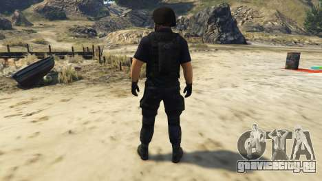 LAPD SWAT Ped для GTA 5 третий скриншот