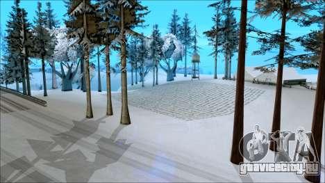 Новый зимний мод для GTA San Andreas третий скриншот