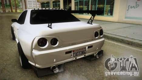GTA 5 Annis Elegy Retro Custom для GTA San Andreas вид сбоку