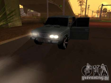 VAZ 2106 Armenian для GTA San Andreas колёса