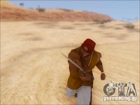 GTA 5 Knife для GTA San Andreas