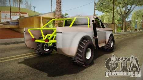 Sandy Racer v.1.5 для GTA San Andreas вид слева