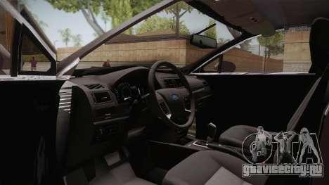 Ford Fusion Titanium 2014 для GTA San Andreas вид справа