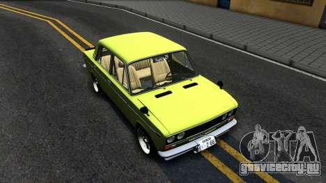BАЗ 2106 для GTA San Andreas вид справа